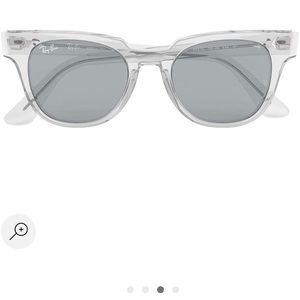 New Ray ban metro evolve sunglasses / Clear frame